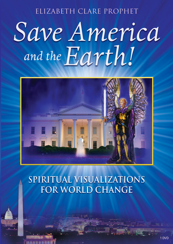 Save America and the Earth Spiritual Visualization - (DVD - VIDEO)