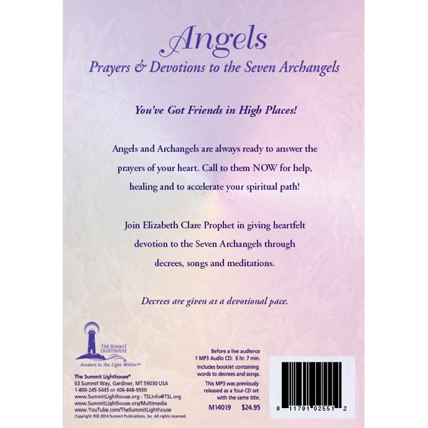 Angels Prayers and Devotions to the Seven Archangels - (MP3 CD)