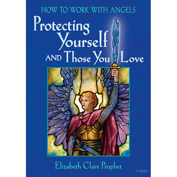 134How to Work with Angels Protecting Yourself and Those You Love - (DVD - VIDEO)