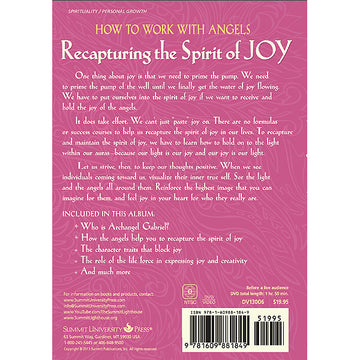 135How to Work with Angels. Recapturing the Spirit of Joy - (DVD)