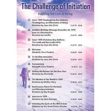 The Challenge of Initiation - (MP3 CD)