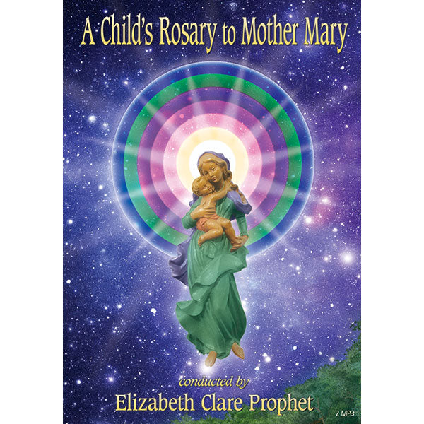 A Child's Rosary to Mother Mary - (MP3 CD)