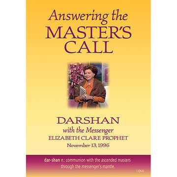 Answering the Master's Call-Darshan with the Messenger - (DVD - VIDEO)