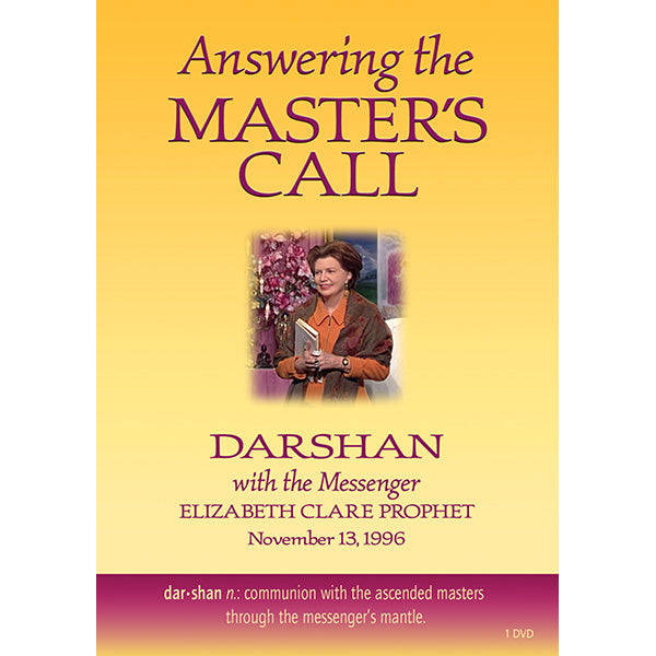 116Answering the Master's Call-Darshan with the Messenger - (DVD - VIDEO)