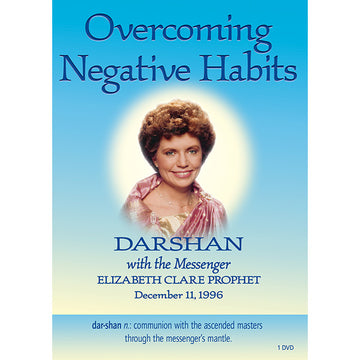 Overcoming Negative Habits, Darshan 8 - (DVD VIDEO)
