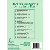 057Decrees and Songs of the Fifth Ray - CD