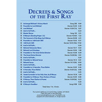 Decrees and Songs of the First Ray - CD