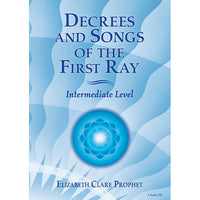 055Decrees and Songs of the First Ray - CD