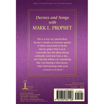 Decrees and Songs with Mark L. Prophet - (CD Set)