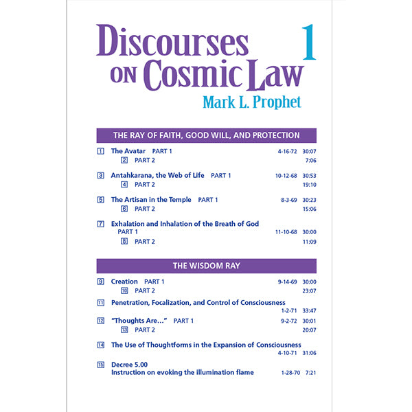 302Discourses on Cosmic Law # 1 - MP3