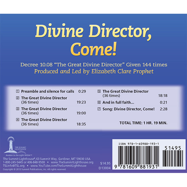 15Great Divine Director - CD