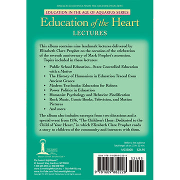 Education of the Heart - Lectures - (MP3 CD)