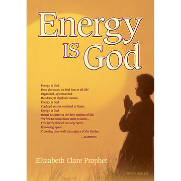 Energy Is God - (MP3 CD)