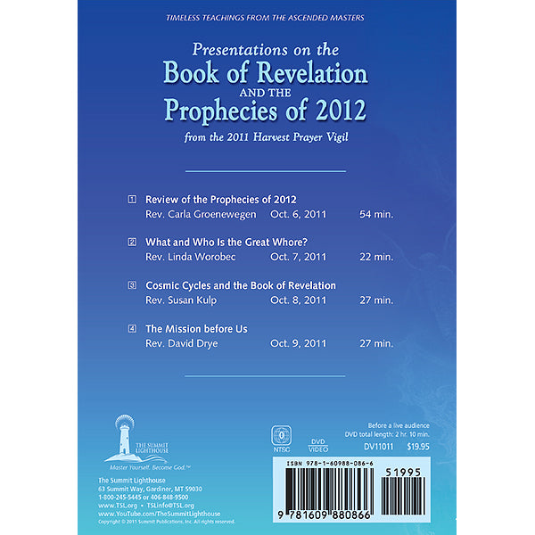 Present: Book of Revelation & Prophecies 2012 (Harvest 2011) - (DVD - VIDEO)