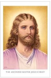 Jesus Christ - Sindelar (laminated) wallet card