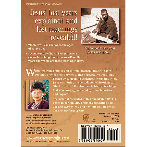 236Lost Years and The Lost Teachings of Jesus, DVD - (DVD - VIDEO)