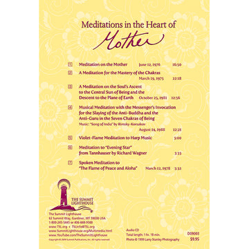 033Meditations In The Heart of Mother - CD