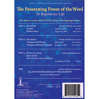 The Penetrating Power of the Word (New Year 2014) - (DVD - VIDEO)