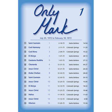Only Mark 1 - (MP3 CD)