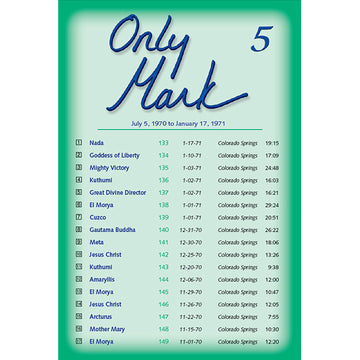 Only Mark 5 - (MP3 CD)