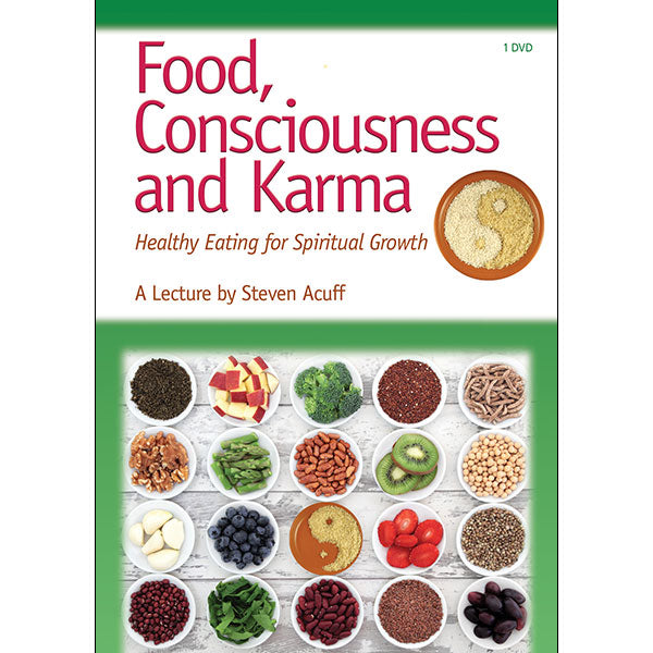 Food, Consciousness and Karma - (DVD - VIDEO)