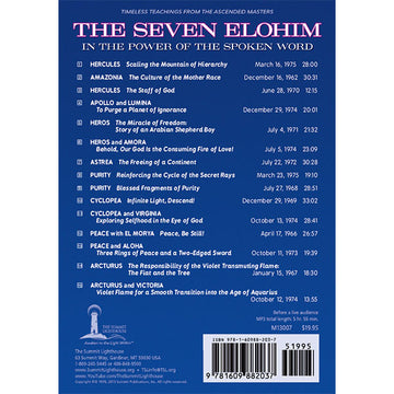 Seven Elohim in the Power of the Spoken Word, The - MP3