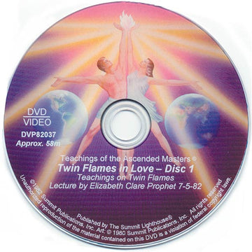 Twin Flames in Love - DVD-Mothers Lecture 1982 - (DVD - VIDEO)