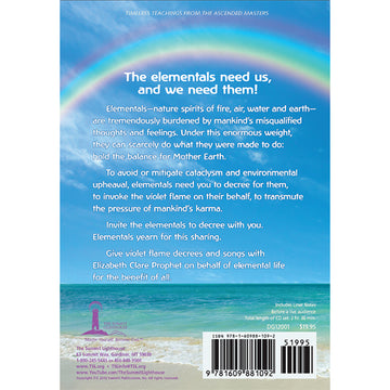 Violet Flame for Elemental Life-Fire, Air, Water, and Earth - CD