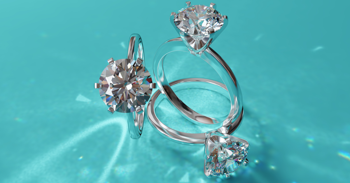 solitaire diamond engagement rings near me