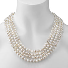 Load image into Gallery viewer, endless style baroque freshwater pearl strand necklace