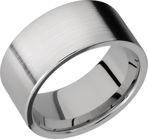 lashbrook titanium collection titanium 10mm flat band