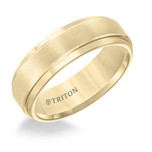 Tungsten Men's Wedding Band - 11-2097YC-G