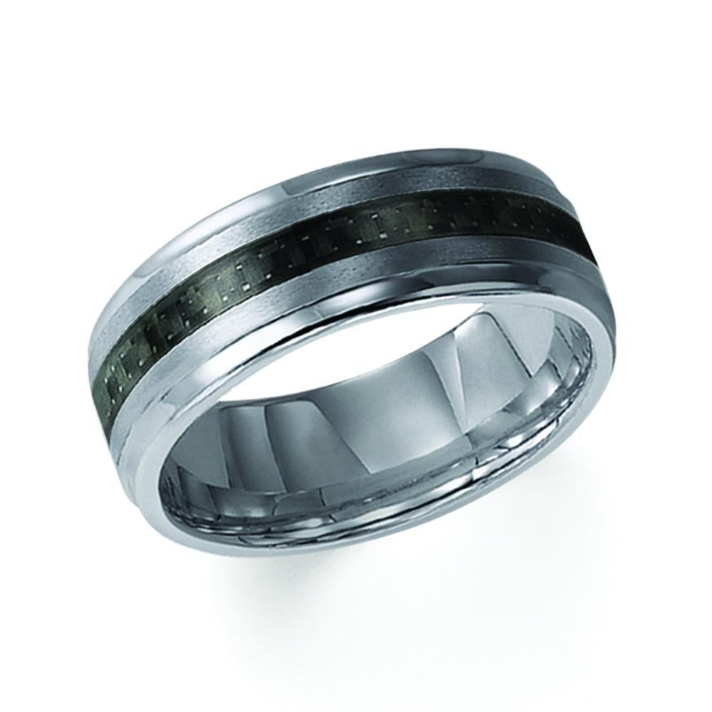 Tungsten Men's Wedding Band - 11-2316C-G