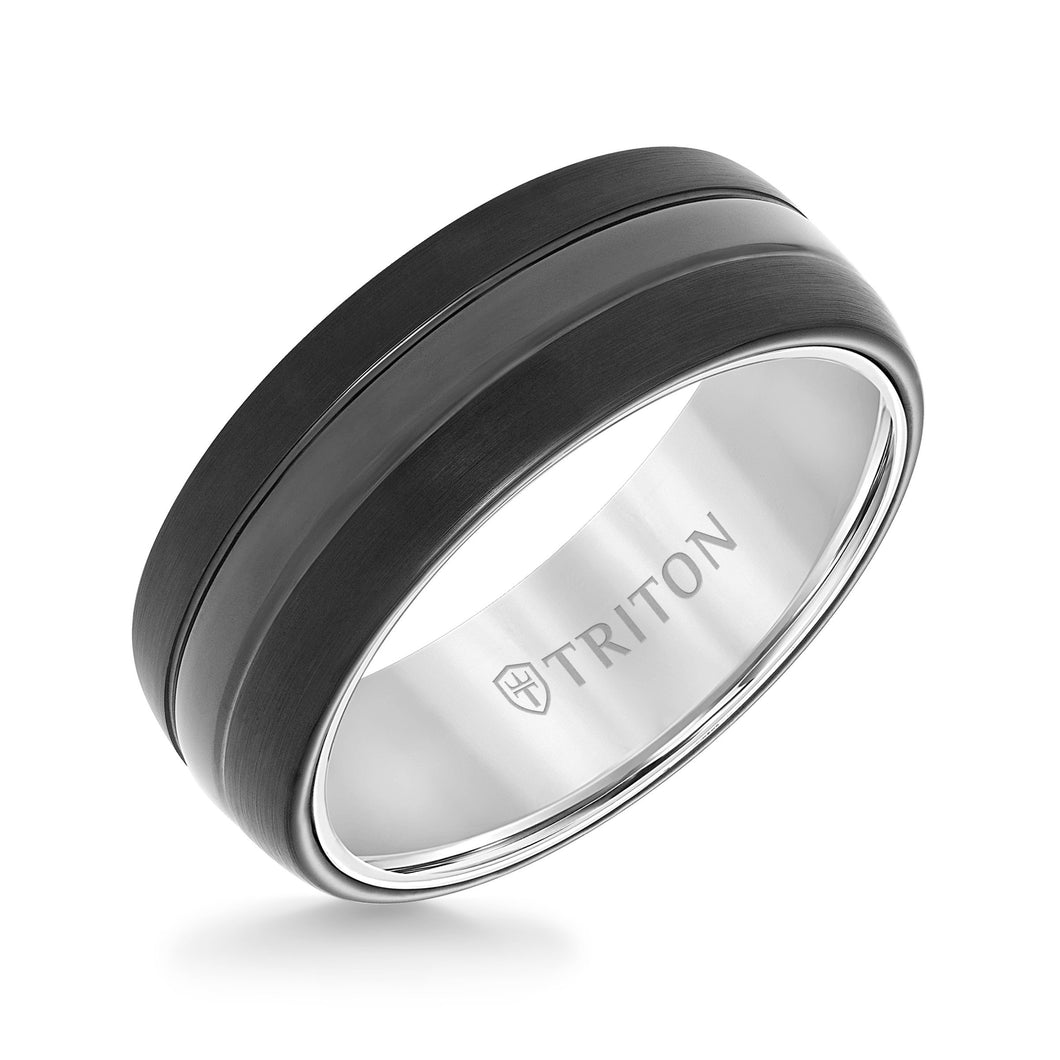 Tungsten Men's Wedding Band - 11-5943MCW8-G