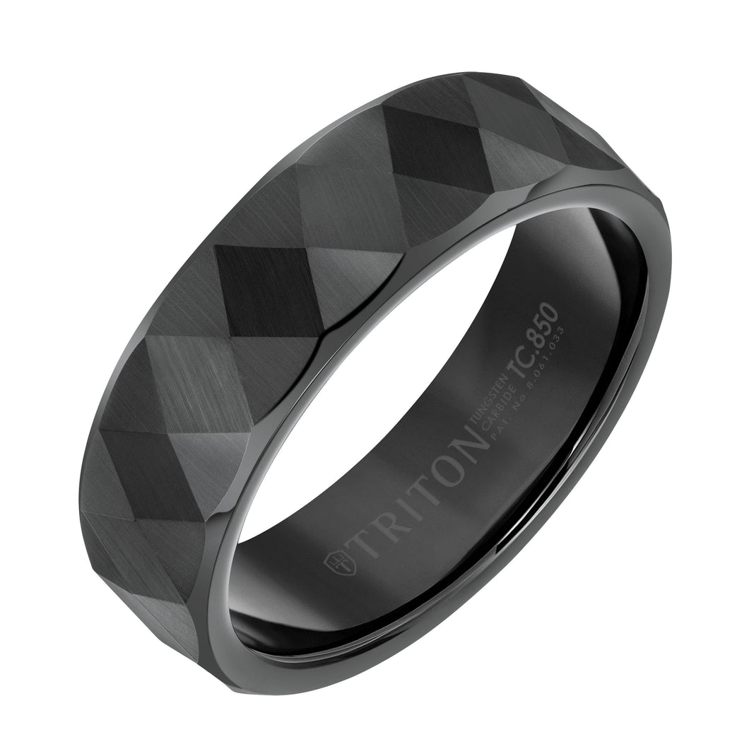 Tungsten Men's Wedding Band - 11-6036BC7-G