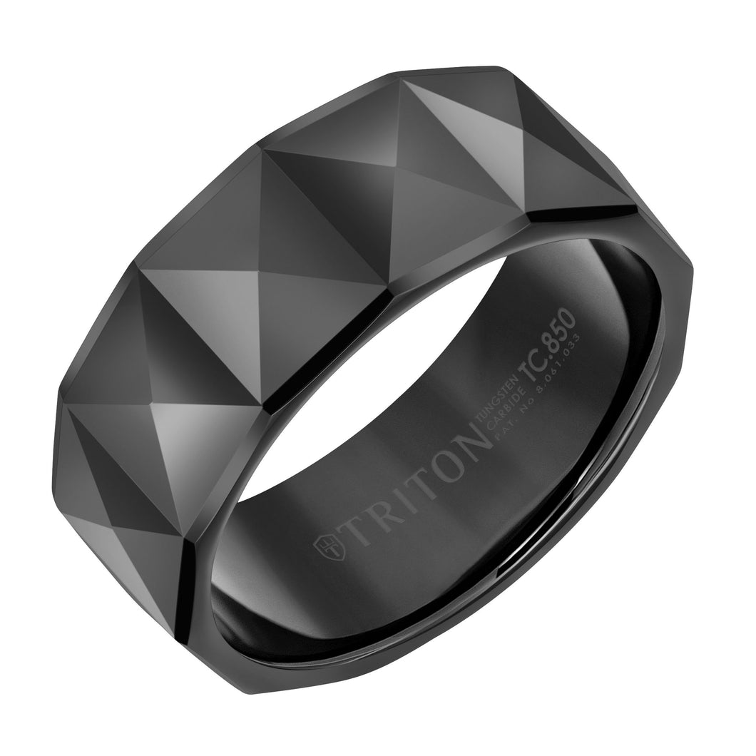 Tungsten Men's Wedding Band - 11-6039BC9-G