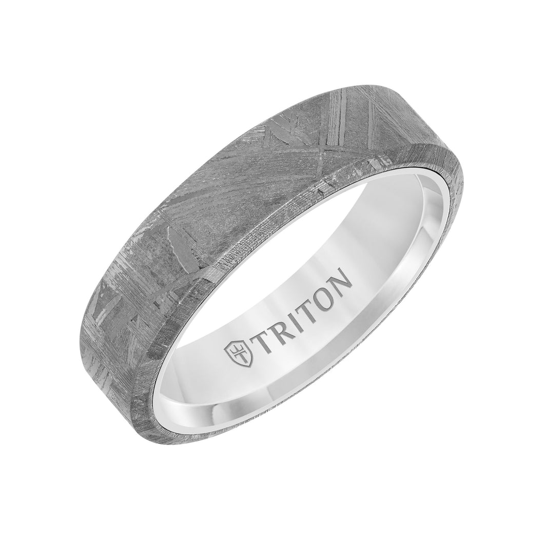 Tungsten Men's Wedding Band - 11-6138WCM6-G