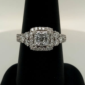 1/2 CT Diamond Engagement Ring