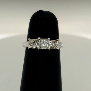 1CTW Platinum Diamond Engagement Ring