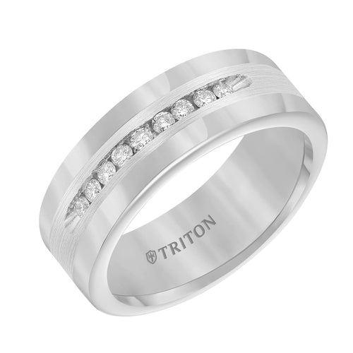 Tungsten Men's Wedding Band - 21-2216SC-G