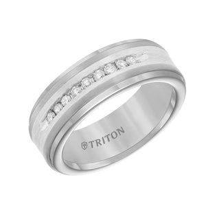 Tungsten Men's Wedding Band - 21-2218SC-G