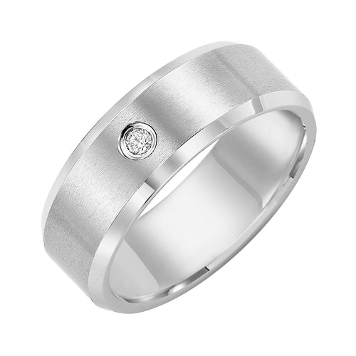 Tungsten Men's Wedding Band - 21-2239HC-G