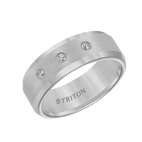 Tungsten Men's Wedding Band - 21-2334C-G
