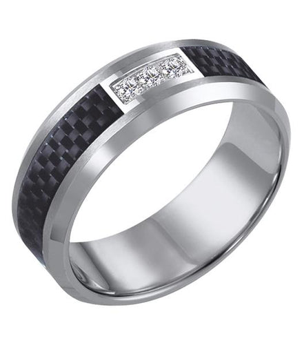 Tungsten Men's Wedding Band - 22-2940C-G