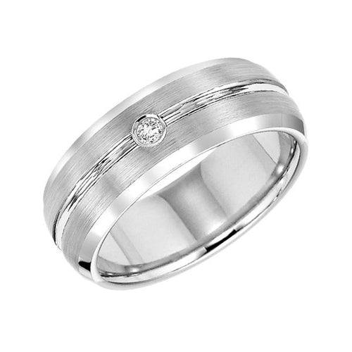 Tungsten Men's Wedding Band - 22-2942HC-G