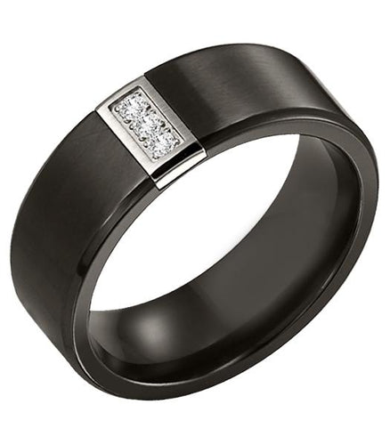Titanium Men's Wedding Band - 22-2945BT-G