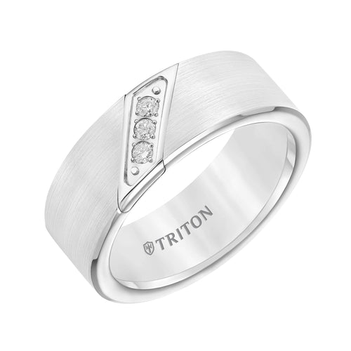 Tungsten Men's Wedding Band - 22-2953HC-G