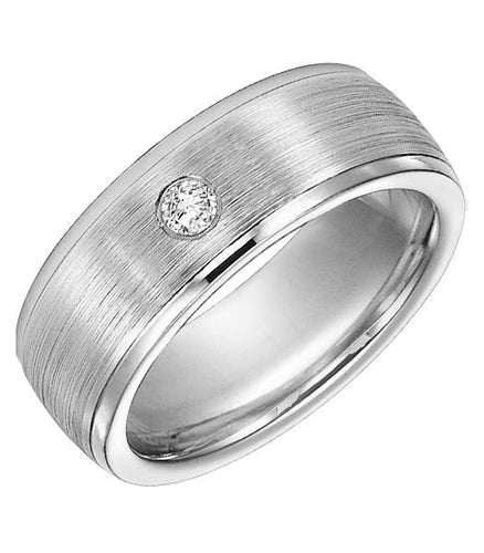 Cobalt Men's Wedding Band - 22-3436Q-G