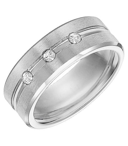 Cobalt Men's Wedding Band - 22-3437Q-G
