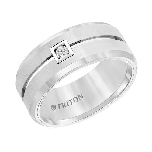 Tungsten Men's Wedding Band - 22-4629HC-G